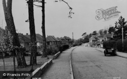 Barming, Heath Road c.1955