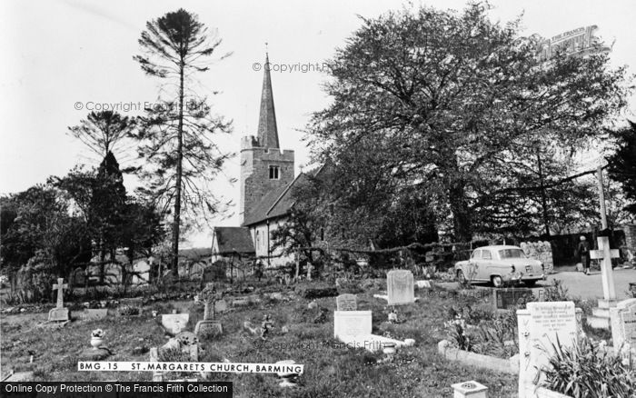 Photo of Barming, St Margaret's Church c.1960