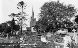 Barming, St Margaret's Church c.1960