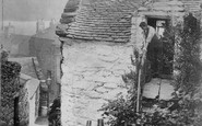Barmouth, A Bit Of The Old Town c.1890