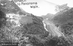 Barmouth, Approach To Panorama Walk c.1935