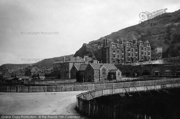 Barmouth, Belle Vue Mansion 1889