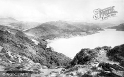 Barmouth, Diphwys From Panomara View c.1955