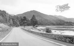 Barmouth, Dolgellau Road c.1955