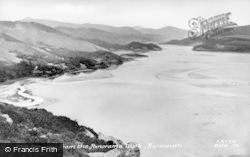 Barmouth, Estuary From Panorama Walk c.1955