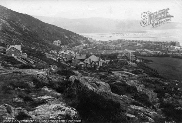Barmouth, From Conciliation Hill 1913
