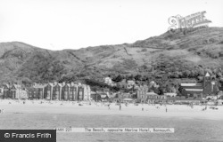 Barmouth, From The Beach c.1955
