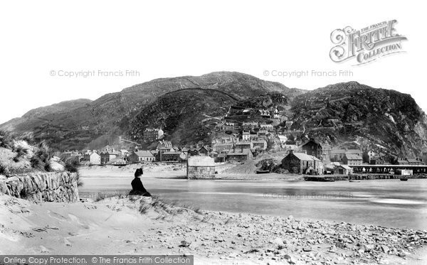 Barmouth, From The Breakwater 1889