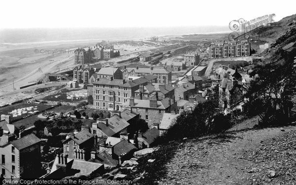 Barmouth, From The Hills 1889