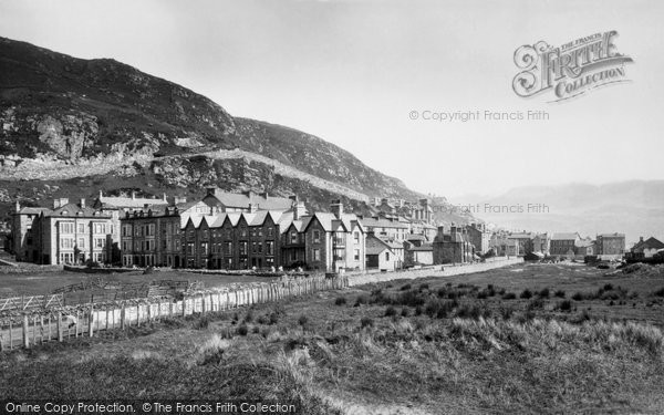 Barmouth, From The Railway 1889