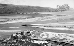 Barmouth, General View c.1955