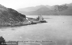 Barmouth, Giants Head And Coes Faen c.1955