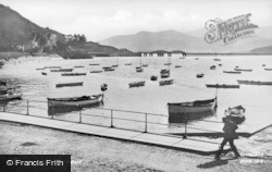 Barmouth, Harbour c.1935