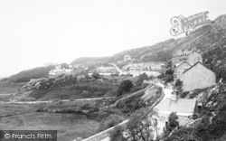 Barmouth, Harlech Road 1892