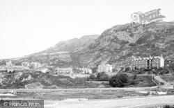 Barmouth, Harlech Road 1898