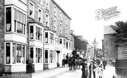 Barmouth, High Street, Cors Y Gedol 1908