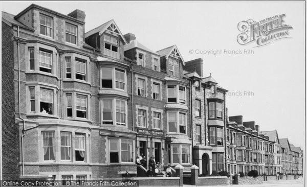 Barmouth, Marine Mansions 1908