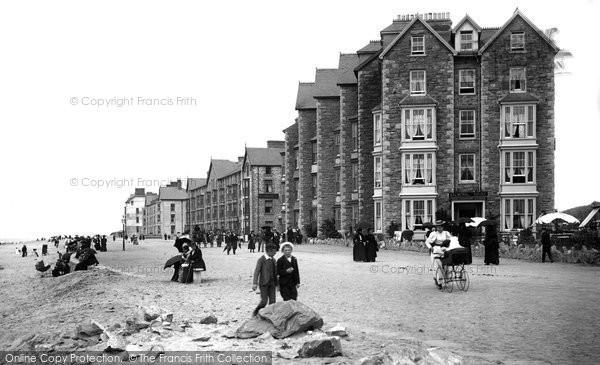 Barmouth, Marine Parade 1895