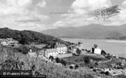 Barmouth, Mount Argus And Mawddach Estuary c.1960