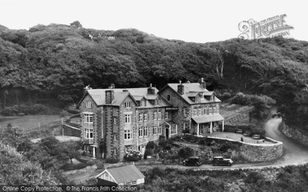 Barmouth, Mount Argus c.1955