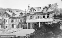 Barmouth, Mount Argus c.1960