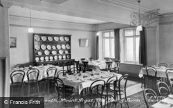 Mount Argus, The Dining Room c.1955, Barmouth