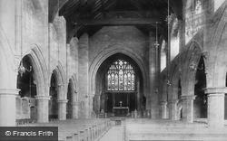 Barmouth, New Church, Nave East 1895