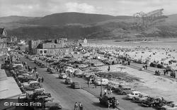 Barmouth, Promenade And Beach c.1960