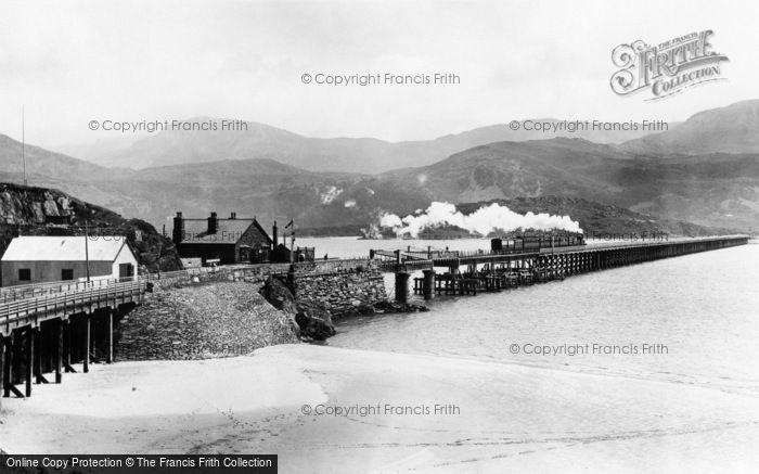 Barmouth, Railway Bridge 1896
