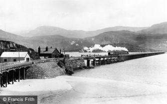 Barmouth, Railway Bridge 1896