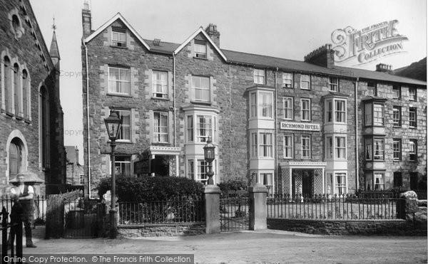 Barmouth, Richmond Hotel 1921