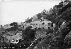 Barmouth, Ruskin's Cottages 1913