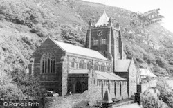 Barmouth, St John's Church c.1960