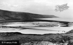 Barmouth, The Bridge And Estuary c.1955