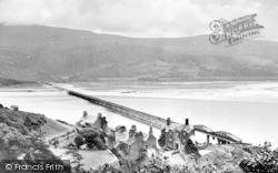 Barmouth, The Bridge c.1955