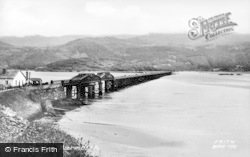 Barmouth, The Bridge c.1955