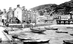 Barmouth, The Harbour 1913