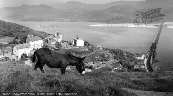 Barmouth, The Mawddach Estuary c.1960