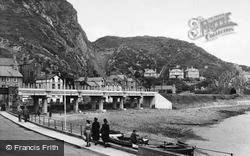 Barmouth, The New Railway Bridge c.1955