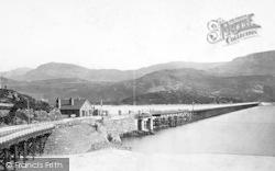 Barmouth, The Railway Bridge 1889
