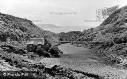 View From Panorama Walk c.1955, Barmouth