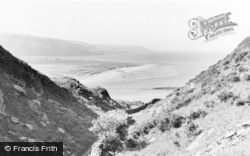 Barmouth, View From Panorama Walk c.1960