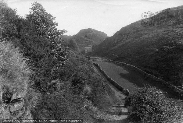 Barmouth, View In Panorama Walk 1913
