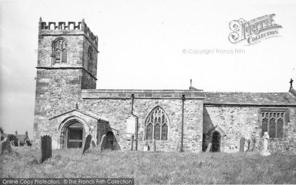 Photo of Barmston, All Saints' Church c.1955