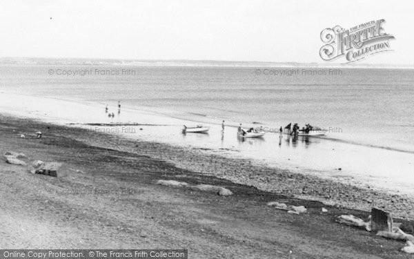 Photo of Barmston, Boats On The Beach c.1960