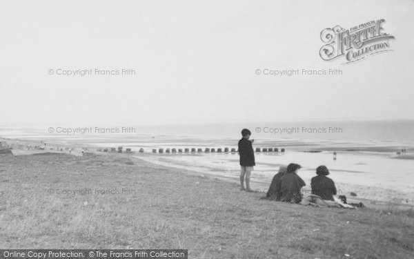 Photo of Barmston, Looking Out To Sea c.1955