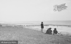 Barmston, Looking Out To Sea c.1955