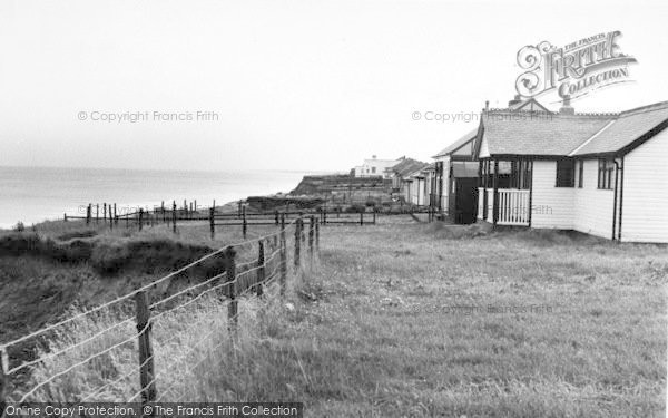 Photo of Barmston, South Cliff Bungalows c.1955