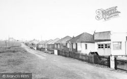 Barmston, South Cliff Bungalows c.1960