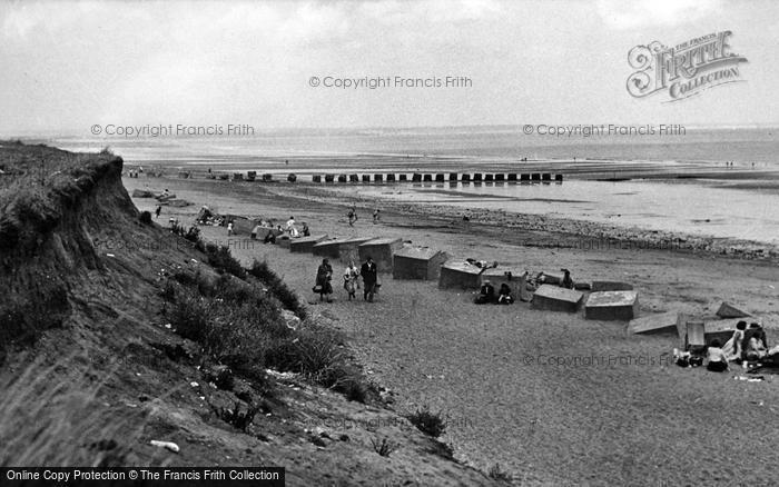 Photo of Barmston, The Beach c.1955